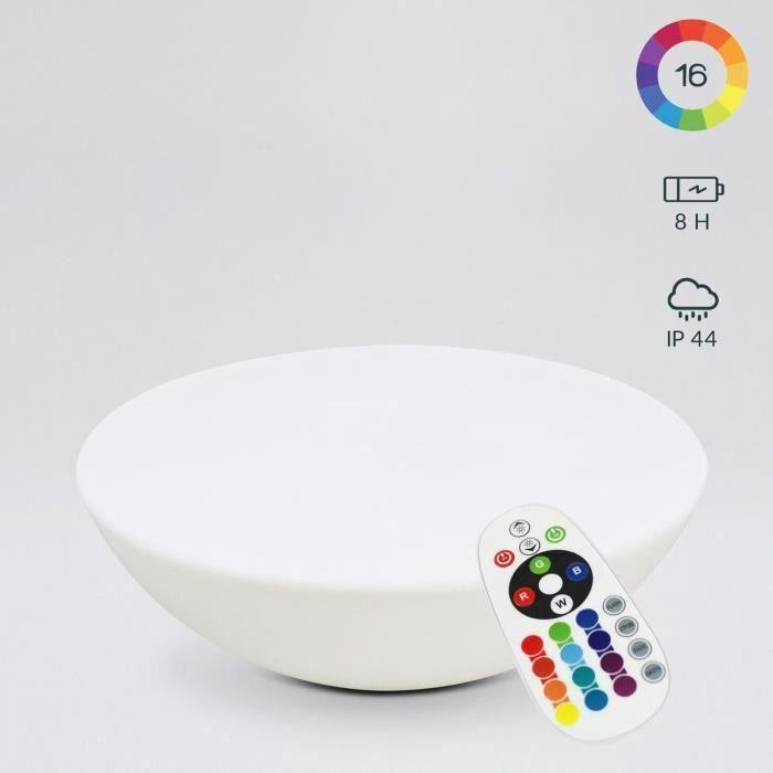 Table basse lumineuse sans fil