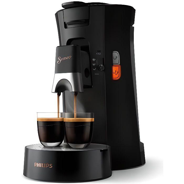 PHILIPS Senseo Select CSA240/61 - Machine à café dosette - Noir