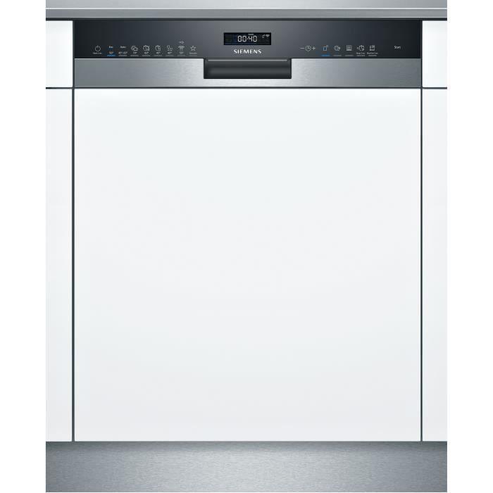 Lave-vaisselle tout intégrable SIEMENS SN55ZS40CE iQ500 - 14 couverts - Induction - L60cm - 44 dB - Connecté