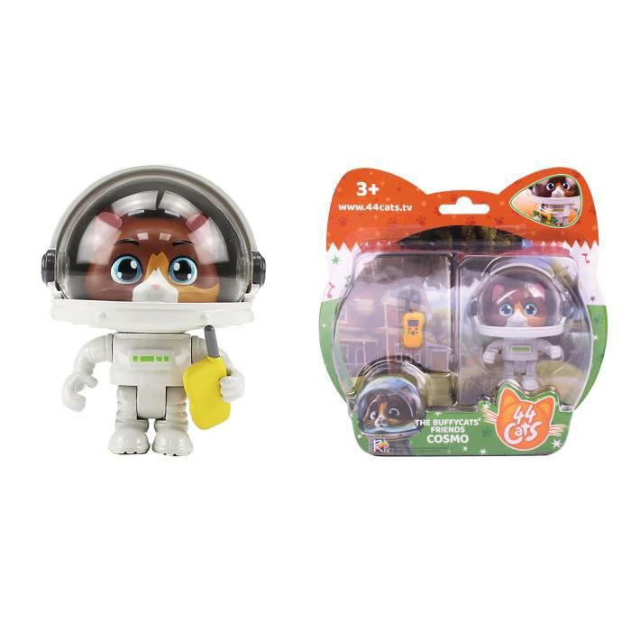 Figurine Cosmo + Talkie-Walkie 44CATS - SMOBY