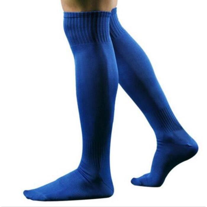 Chaussettes de Football Long pour Hommes 43/47-bleu
