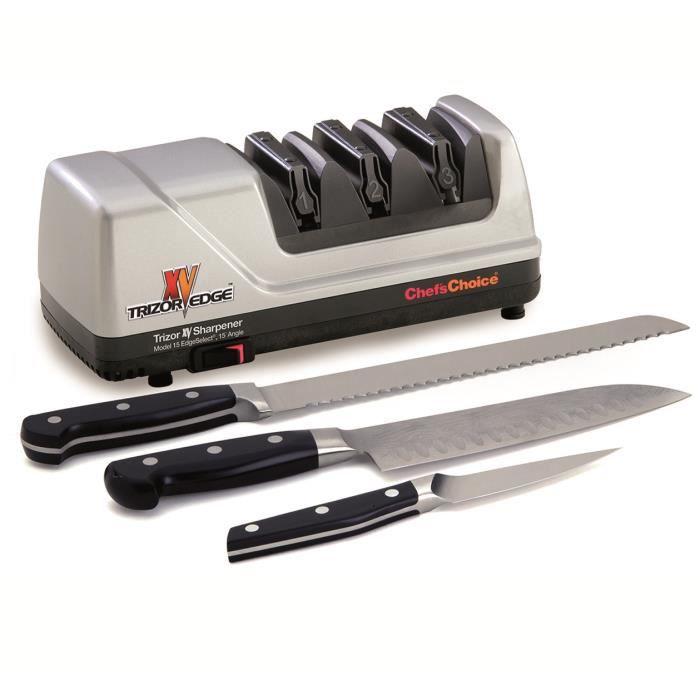 Aiguiseur électrique Chef's Choice Trizor 15