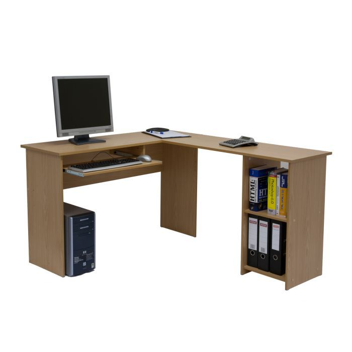 bureau informatique d 39 angle otto achat vente bureau. Black Bedroom Furniture Sets. Home Design Ideas