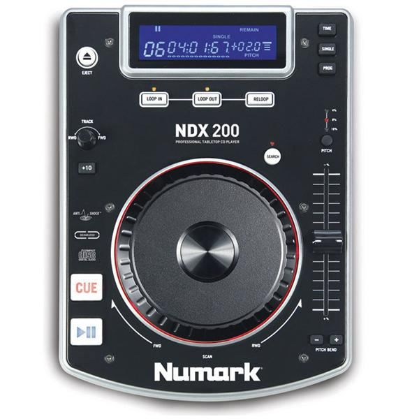 numark platine cd ndx 200 platine dj avis et prix pas. Black Bedroom Furniture Sets. Home Design Ideas