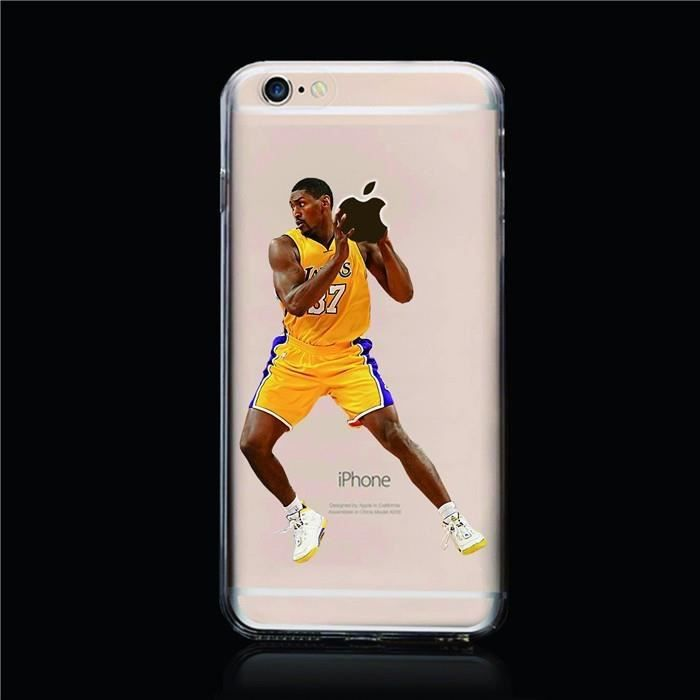 coque iphone 6 6s plus 5 5 lakers number 37 bask