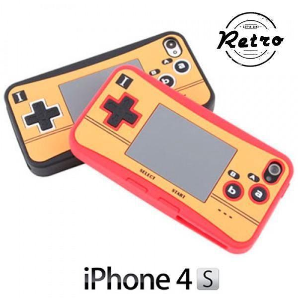 Coque pour iPhone 4 4S imitation console de jeu vi