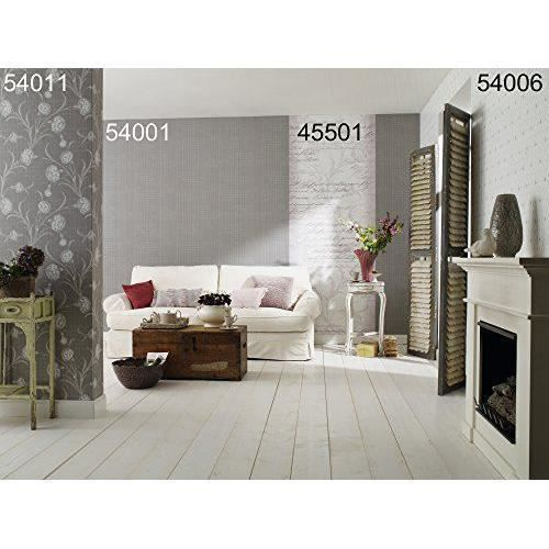 4 murs papier peint femme couleur gris blanc gris clair gris blanc 6054 0114 article no. Black Bedroom Furniture Sets. Home Design Ideas