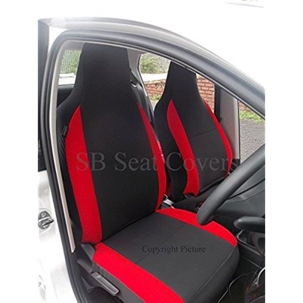renault twingo housse de si ge gris anthracite traversins rouge 2 si ges avants c1925. Black Bedroom Furniture Sets. Home Design Ideas
