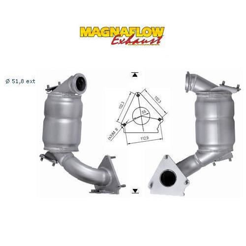 pot catalytique renault scenic magnaflow   vente