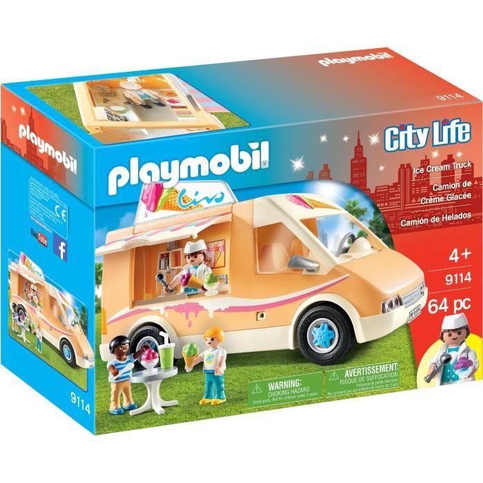Playmobil Famille Fun Crème Glacée Panier Playset 9426