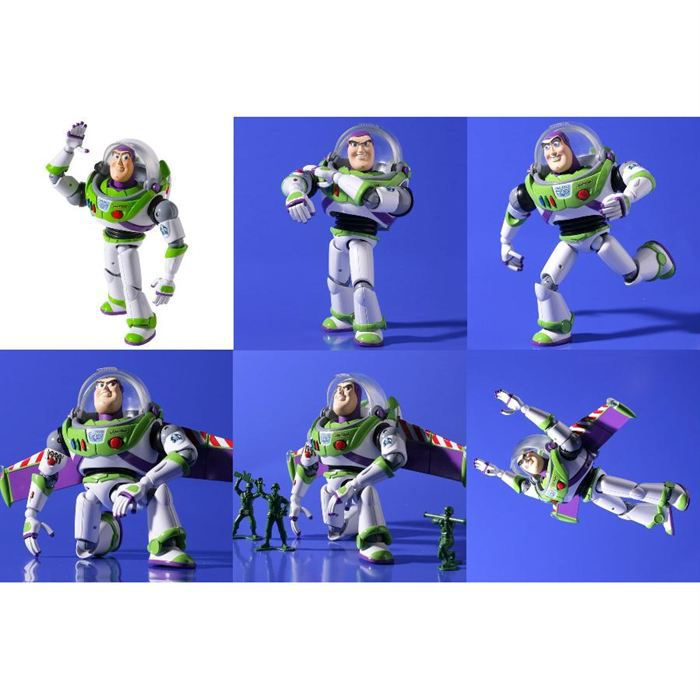 toy story buzz l 39 eclair revoltech achat vente figurine. Black Bedroom Furniture Sets. Home Design Ideas
