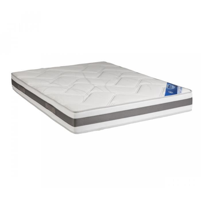 matelas mousse m moire someo volga luxe 140x190 achat vente matelas cdiscount. Black Bedroom Furniture Sets. Home Design Ideas