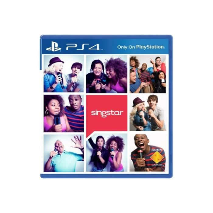 JEU PS4 SingStar PlayStation 4 italien