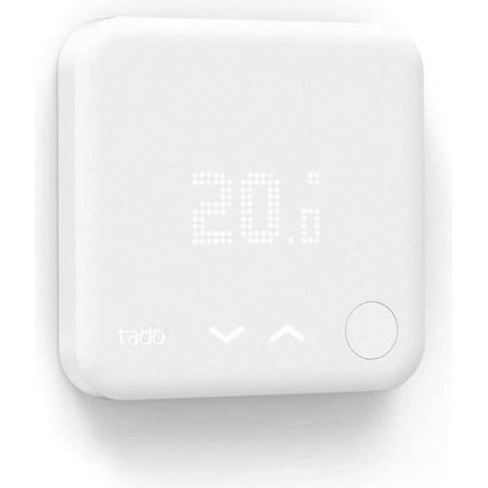 tado thermostat intelligent connect achat vente thermostat d 39 ambiance cdiscount. Black Bedroom Furniture Sets. Home Design Ideas