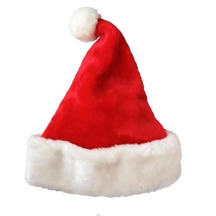 Homme Deluxe Santa Claus Costume Regal Plush Père Noël Costume Robe Fantaisie