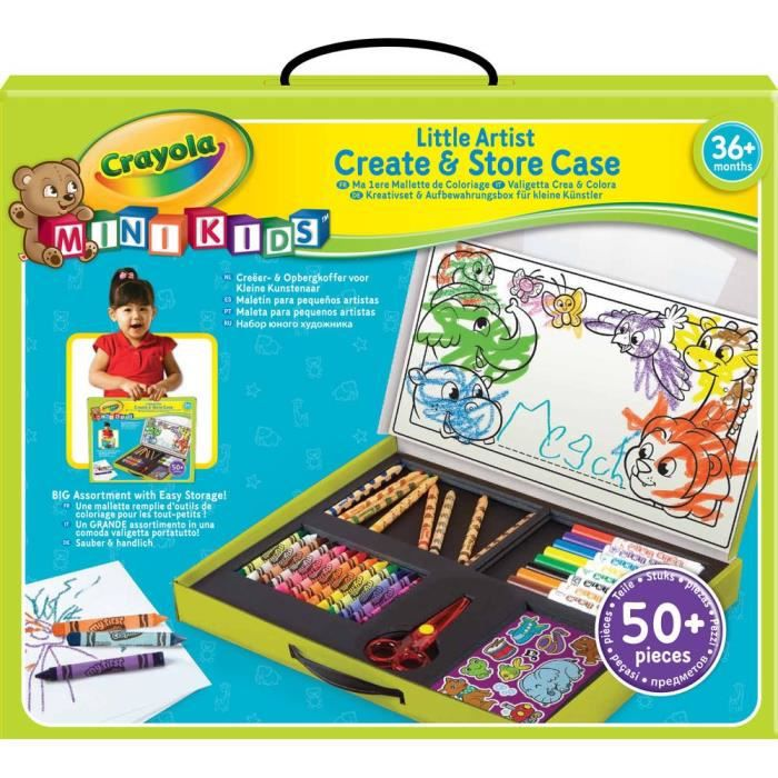 crayola ma premi re malette de coloriage achat vente kit de dessin cdiscount. Black Bedroom Furniture Sets. Home Design Ideas