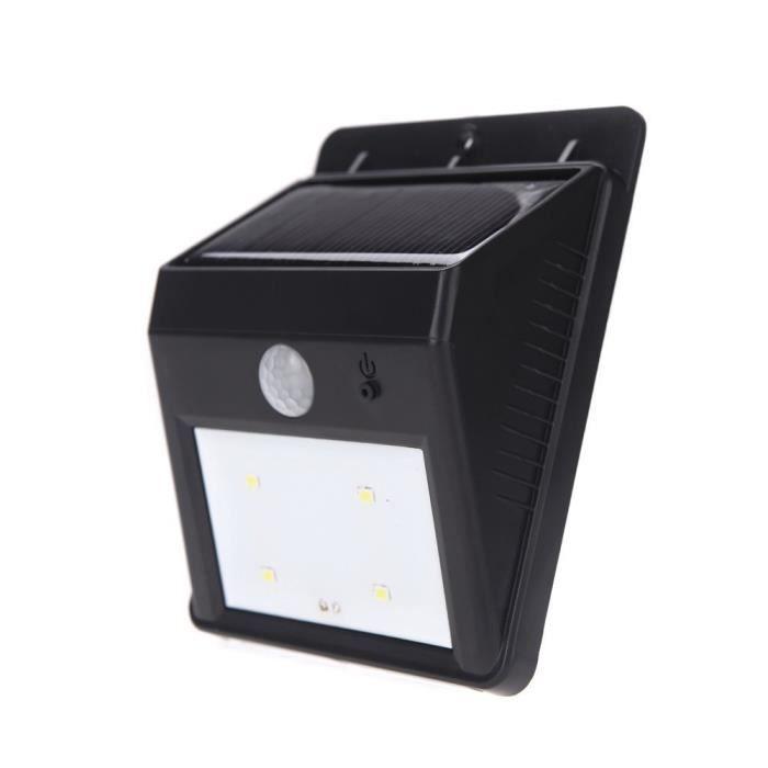 LED Fourre-Lampe solaire extérieur jardin Couleur lumière éclairage