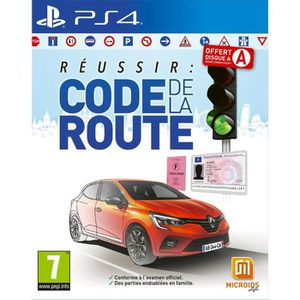 JEU PS4 Réussir Le Code de la route Jeu PS4
