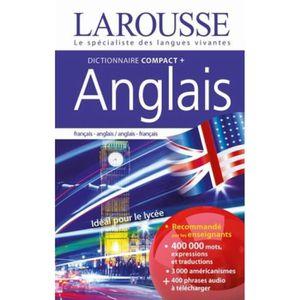 LIVRE ANGLAIS Dictionnaire compact + français-anglais, anglais-f