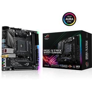 CARTE MÈRE Carte Mère ASUS ROG STRIX B450-I GAMING- AM4