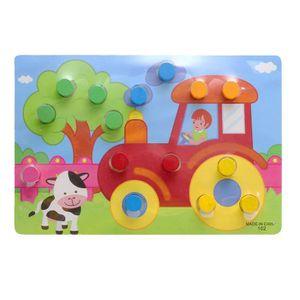 JEU D'APPRENTISSAGE Panneau de connaissances coloré Montessori éducati