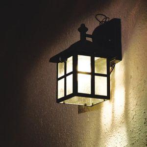 philips LED e27 Sidney Mur Extérieur Lampe détecteur mvt extérieur lampe en acier inoxydable