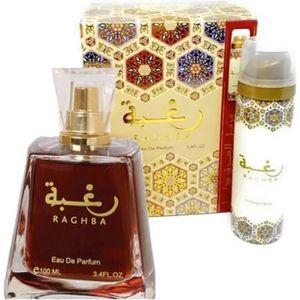 EAU DE PARFUM Coffret Parfum Raghba LATTAFA Eau de Parfum 100ML