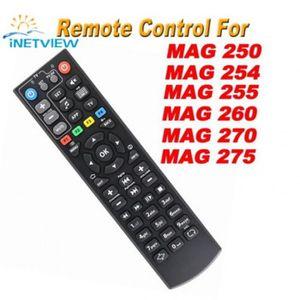 TÉLÉCOMMANDE TV Noir Couleur Remplacement Mag 250 Télécommande Pou