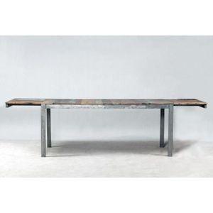 TABLE À MANGER SEULE Table de repas extensible evasion 200 cm