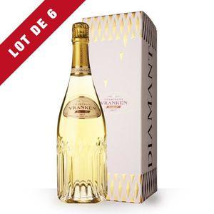 CHAMPAGNE 6X Vranken Diamant Brut 75cl - Etui - Champagne