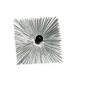 ACCESSOIRES RAMONAGE hérisson de ramonage carré acier 300x300 avec boul
