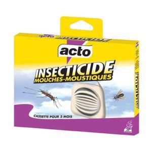 PRODUIT INSECTICIDE Mouches-moustiques cassette Acto - Insecticide 20g