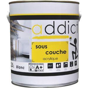 PEINTURE - VERNIS Peinture Addict sous-couche Addict Boîte 2,5l...