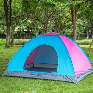 TENTE DE CAMPING Tente de camping - 2 places - Couleur aléatoire B3