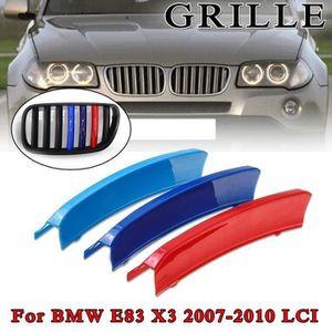 BMW X3 E83 Calandre Avant M Sport Haricot Grille Noir Mat Phase 1 2004-2006