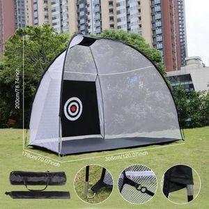 ENTRAINEMENT GOLF ChangM Filet de golf avec cible d'écaillage et sac