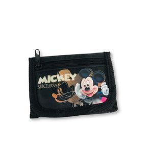 Porte-Monnaie Cachemire Vert Mickey
