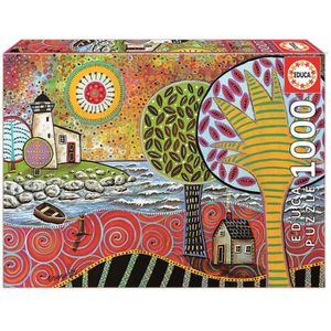 PUZZLE EDUCA - Puzzle Lighthouse 1 - 1000 pcs