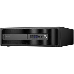 UNITÉ CENTRALE + ÉCRAN HP ProDesk 600 G2 SFF 1 x Core i5 6500 - 3.2 GHz R