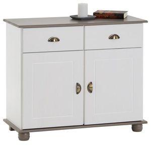 BUFFET - BAHUT  Buffet COLMAR commode bahut vaisselier meuble bas