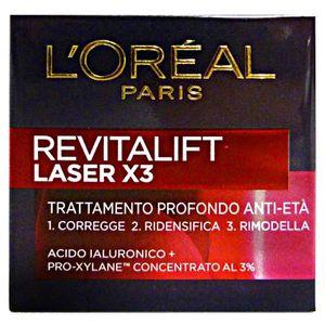 MASQUE VISAGE - PATCH L'OREAL Revitalift Laser X3 jour 50 Ml. - Crèmes e