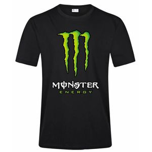 T-SHIRT Monster Energy T Shirt Homme Fashion Casual 100% C