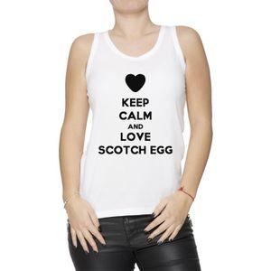 Débardeur Débardeur - Keep Calm And Love Scotch Egg Femme T-