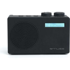 RADIO CD CASSETTE Radio MUSE M-100D Black