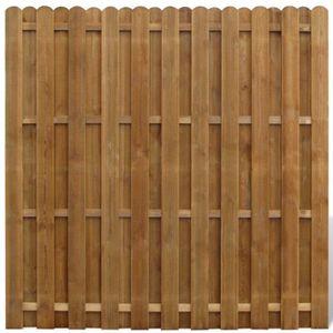 Cloture Panneaux Bois