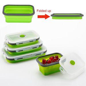 LUNCH BOX - BENTO  Récipient de stockage portatif de nourriture pliab