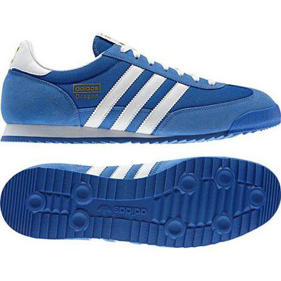 adidas dragon bleu homme 42