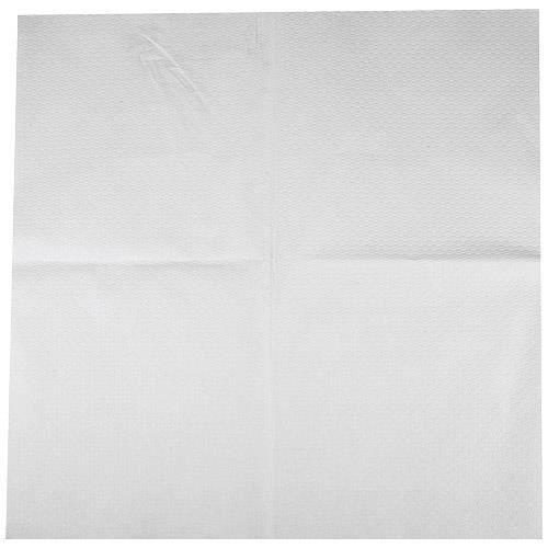 Nappe carrée en papier blanche 60x60 cm