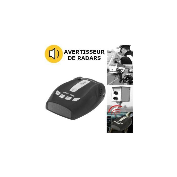 Avertisseur De Radar - Avertisseur De Danger - Avertisseur de Radars GRD750 (avec haut-parleur intégré)
