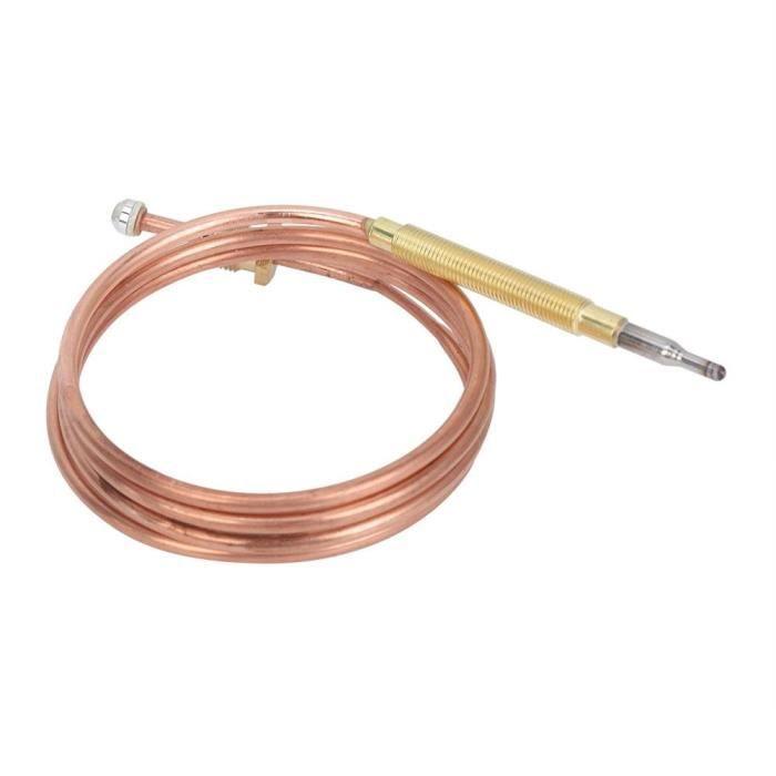 Thermocouple de cuisinière à gaz, thermocouple de gaz à détection de température de durabilité supérieure simple, appareil de